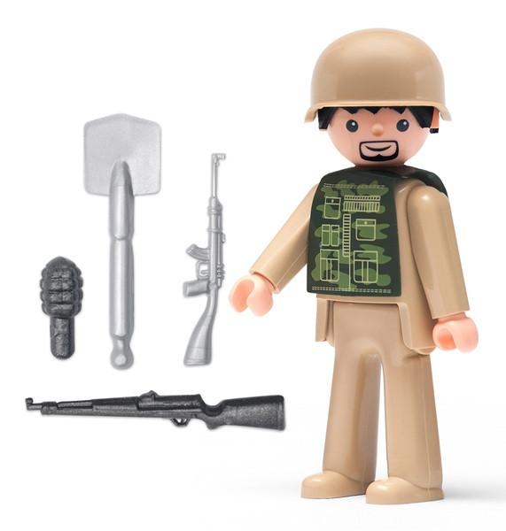 Игрушка IGRACEK Soldier and accessories Солдат с аксессуарами
