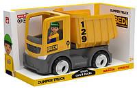 Игрушка MULTIGO Singl BUILD -DUMPER WITH DRIWER самосвал с водител.