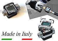 Электронный счетчик расходомер для дизтоплива К24 (6-120 л/мин) ( погрешность 1%) F00408100 Piusi Италия