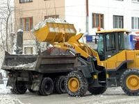 Послуги снігоприбирального трактора навантажувача
