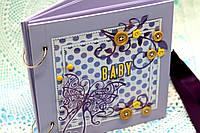 """Фотоальбом """"Baby. С бабочкой"""""""