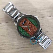 Наручные часы Gucci 6854 Silver кварцевые, часы Гуччи, реплика