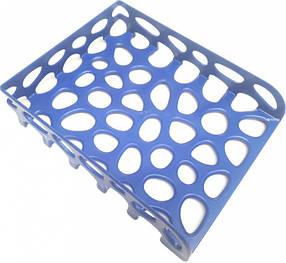 Лоток для бумаги горизонтальный Tascom Темно-синий не бьющийся (Л-20410)