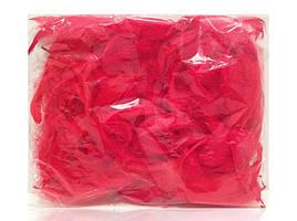 Перья красные 12 гр ≈150 шт