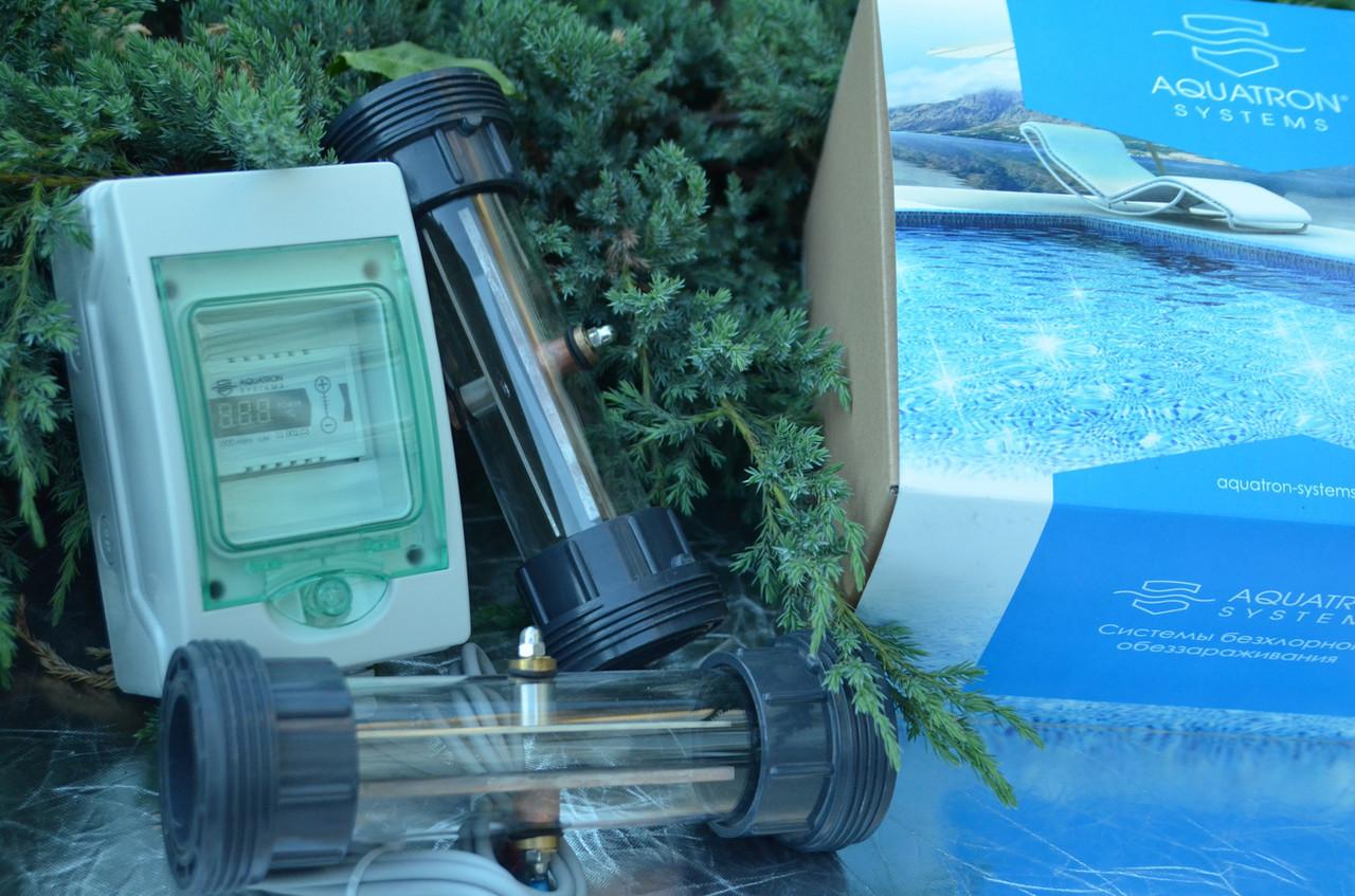 Медный ионизатор для пруда Aquatron CU500 K2 до 80 м3