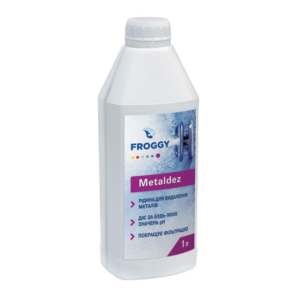 Средство для удаления металлов из воды Froggy Metaldez (1 л)
