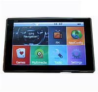 """GPS навигатор 5001 4gb dvr2-128mb, 8gb HD 5"""" NM"""