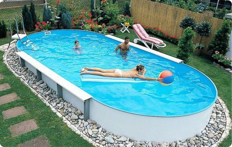 Сборный бассейн Hobby Pool Toscana 9 x 5 х 1.2 м (пленка 0.6 мм)