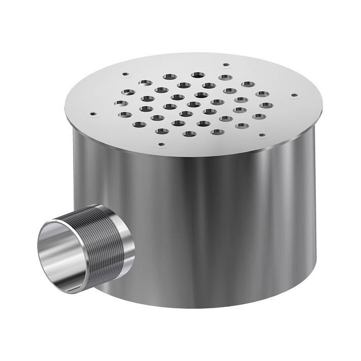 "Слив донный Aquaviva DN150M1 бетон 1,5"" AISI 304"