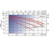 Насос AquaViva LX STP300T/VWS300T 30 м3/ч (3HP, 380В), фото 2