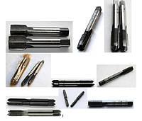 Метчики ручные (слесарные), комплектные и штучные.
