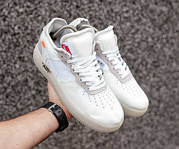 """Мужские кроссовки в стиле OFF-WHITE x Nike Air Force 1 """"The ten"""", фото 3"""