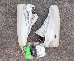 """Мужские кроссовки в стиле OFF-WHITE x Nike Air Force 1 """"The ten"""", фото 2"""