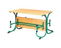 Стол обеденный с откидными лавками (столешница - пластик)
