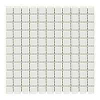 Мозаика стеклянная Aquaviva Сristall белая DCM308
