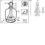 Фильтрационная установка Hayward PowerLine 81073 (14 м³/ч, D610), фото 3
