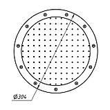 """Плато AquaViva аэромассажное круглое (R300) 2"""" с кольцом, фото 2"""