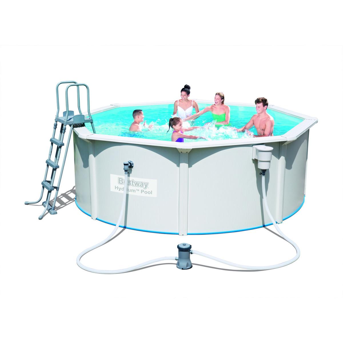 c95bd0bfa6c58 Сборный бассейн Bestway Hydrium 56571 (360x120) с картриджным фильтром -  VIKstore Интернет - магазин