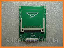"Переходник адаптер CF карта памяти -> ZIF 1.8"" HDD SSD (для ipod)"