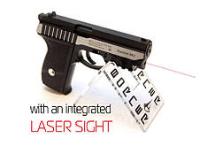 Пневматичний пістолет Borner Panther 801 + лазерний целеуказатель