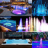 Прожектор светодиодный Aquaviva HT201S 546LED (33 Вт) RGB стальной, фото 6