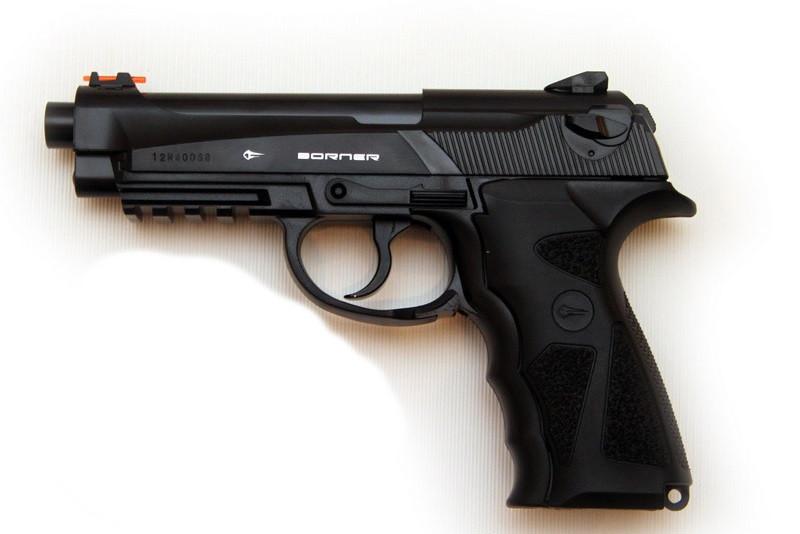 Пневматичний пістолет Borner Sport 306M (Crosman C 31)
