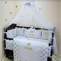 Комплект постельного белья Маленькая Соня Gold Diamant 7ед, фото 1