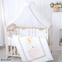 Комплект постельного белья Маленькая Соня Flamingo 7ед, фото 1