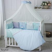 Комплект постельного белья Маленькая Соня Зайчики 7ед, фото 1