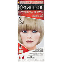 КЕРАКОЛОР KeraColor Краска для волос  № 8*1 Перламутровый Блондин, Светлый Блондин Пепельный, 100 мл, фото 1