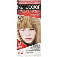 КЕРАКОЛОР KeraColor Краска для волос  № 8 Светлый Блондин, Светлый Блондин, 100 мл, фото 1