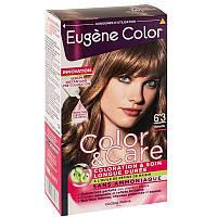 ЭЖЕН КОЛОР  Eugene Color Стойкая Крем-краска для волос  Колор и Уход№6*3 Орех