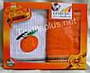 Полотенца кухонные махра-вафелька Cestepe Orange