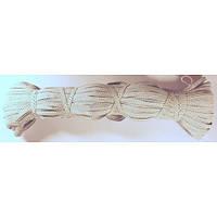 Резинка белая (7.5 мм×100 м), фото 1