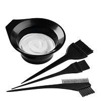 Кисти для окраски волос с миской (3шт.)