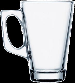Кружка стеклянная конус 250 мл, фото 2