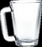 Кружка стеклянная конусная 260 мл, фото 3