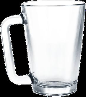 Кружка стеклянная конусная 260 мл, фото 2