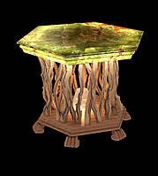 Стол из оникса с подсветкой