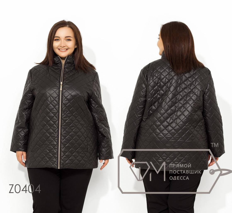a4b19c1b3c788 Куртка демисезонная, ромбик. Большие размеры, батал.: купити в ...