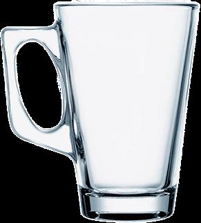 Кружка стеклянная большая 385 мл, фото 2