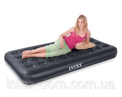Матрас 67794 Надувная кровать Intex Outdoor Super-Tough AirBed( ортропедическая-99 x 191 x 23 см.)Киев