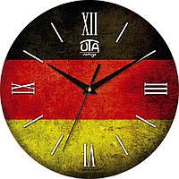 Часы настенные «Флаг Германии»