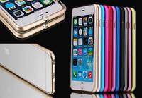 Алюминиевый чехол бампер для Apple iPhone 5 5S SE, фото 1