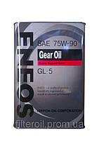Масло трансмиссионное Eneos Gear Oil 75W-90 GL-5 1лит