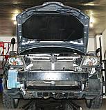Декоративно-захисна сітка радіатора Mitsubishi Outlander 2003 - бампер, фальшрадіаторная решітка, фото 2