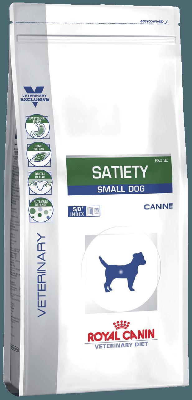 Сухой корм Royal Canin Satiety Small Dog для собак с ожиреним и сахарным диабетом 3.5 кг