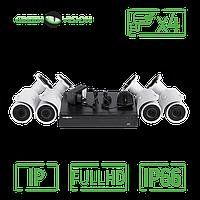Комплект видеонаблюдения Green Vision GV-IP-K-L19/04 1080P