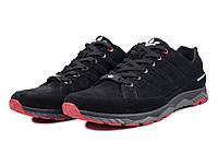 Кроссовки Adidas мужские замшевые синие, красные и черные40,41,42,43,44,45