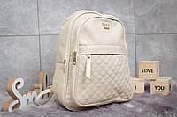 Рюкзак женские Zara, бежевые (90171),  [ 1  ]